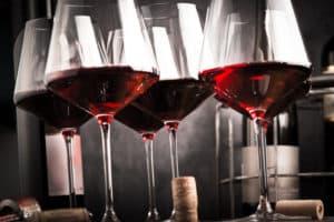 gutes Weinglas