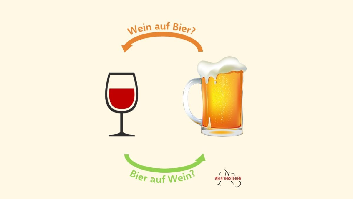 Bier Auf Wein Spruch