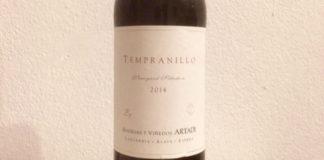 Artadi Tempranillo 2014