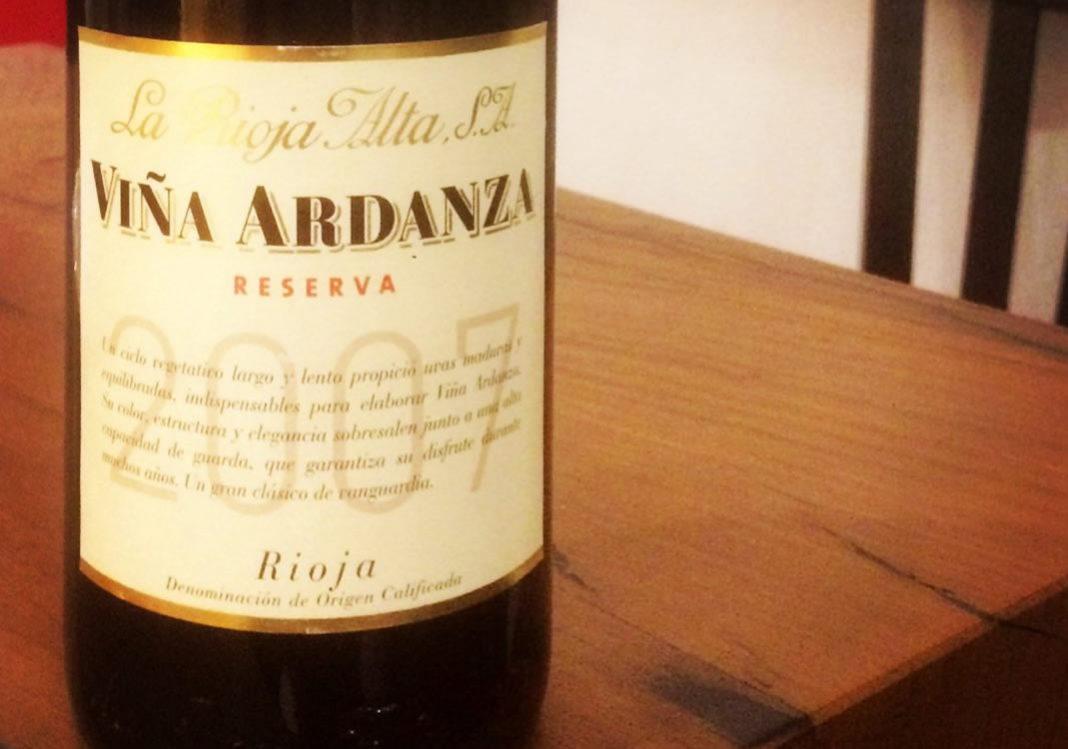 Viña Ardanza 2007 La Rioja Alta Reserva