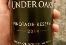 Under Oaks Paarl Pinotage Reserve 2014