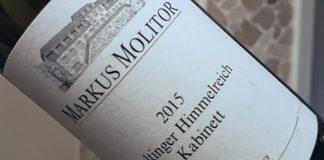 Markus Molitor Zeltinger Himmelreich Riesling 2015 im Test