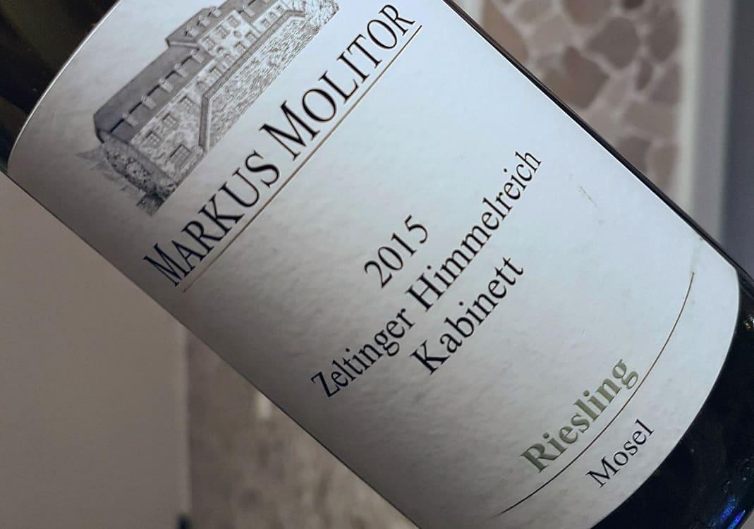 Molitor Zeltinger Himmelreich Riesling 2015 Im Test Wein Verstehen