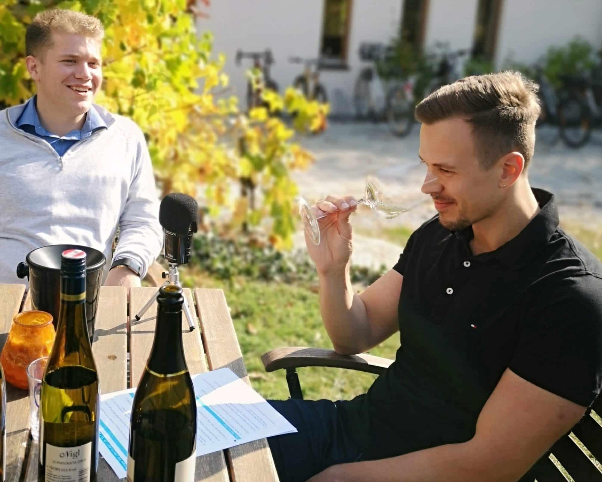 Wein richtig verkosten