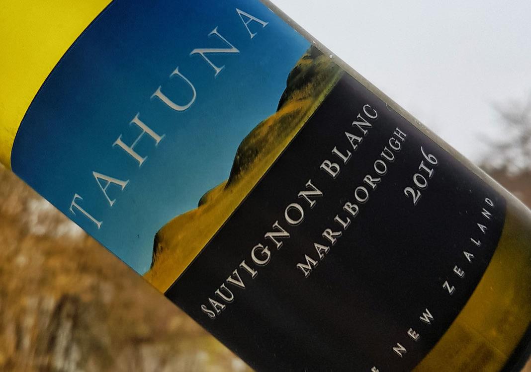 Tahuna Marlborough Sauvignon Blanc 2016