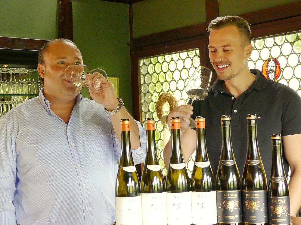 Nik Weis und Daniel Bayer