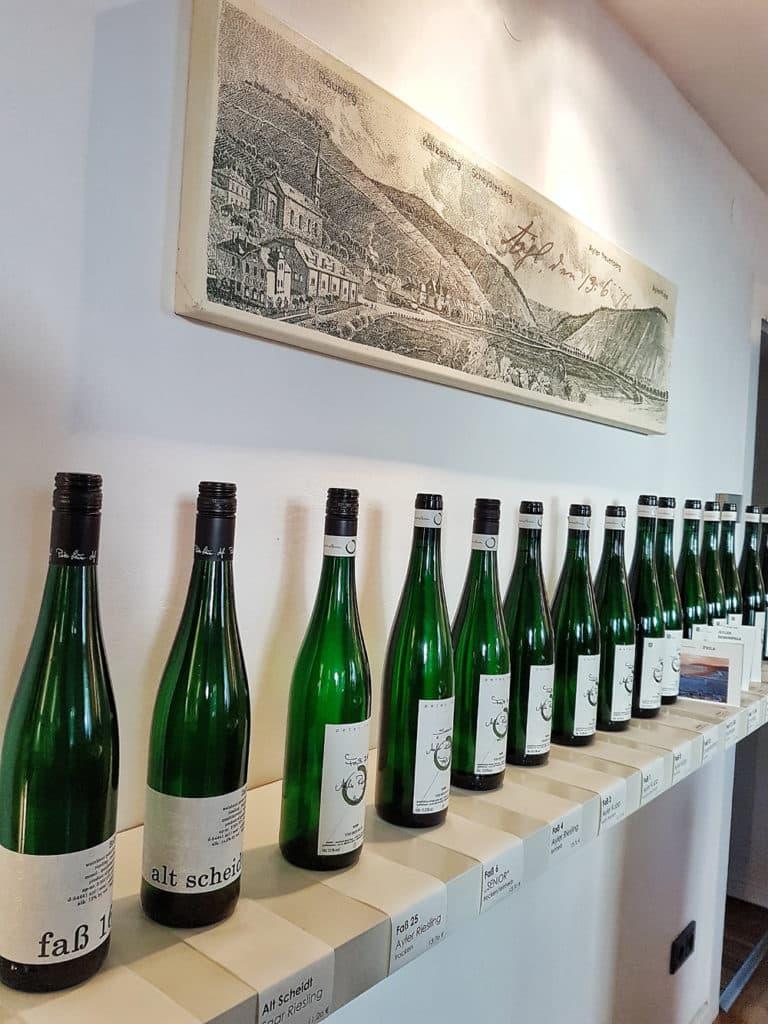 Weingut Peter Lauer: großes Angebot an Riesling