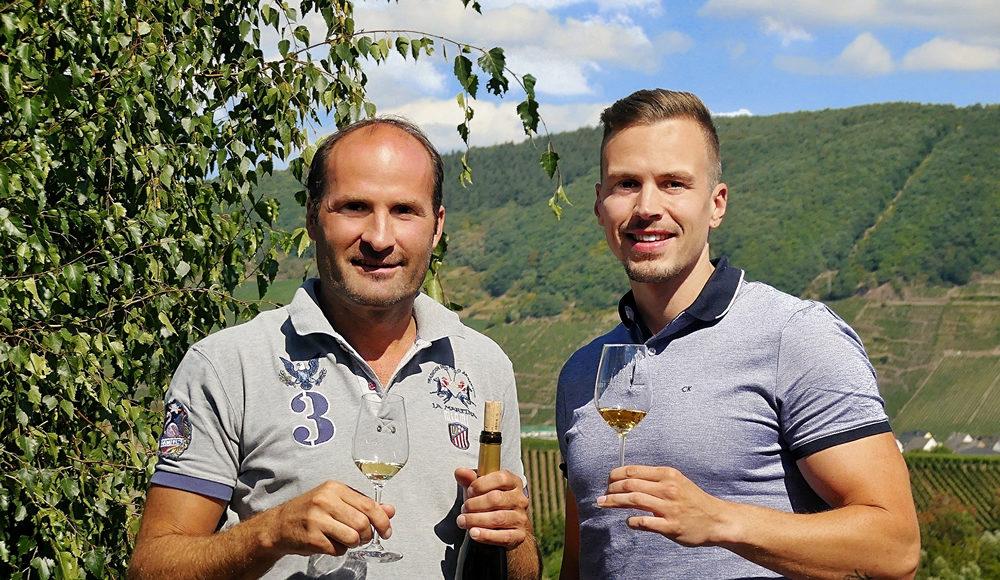 Stefan Blees und Daniel Bayer