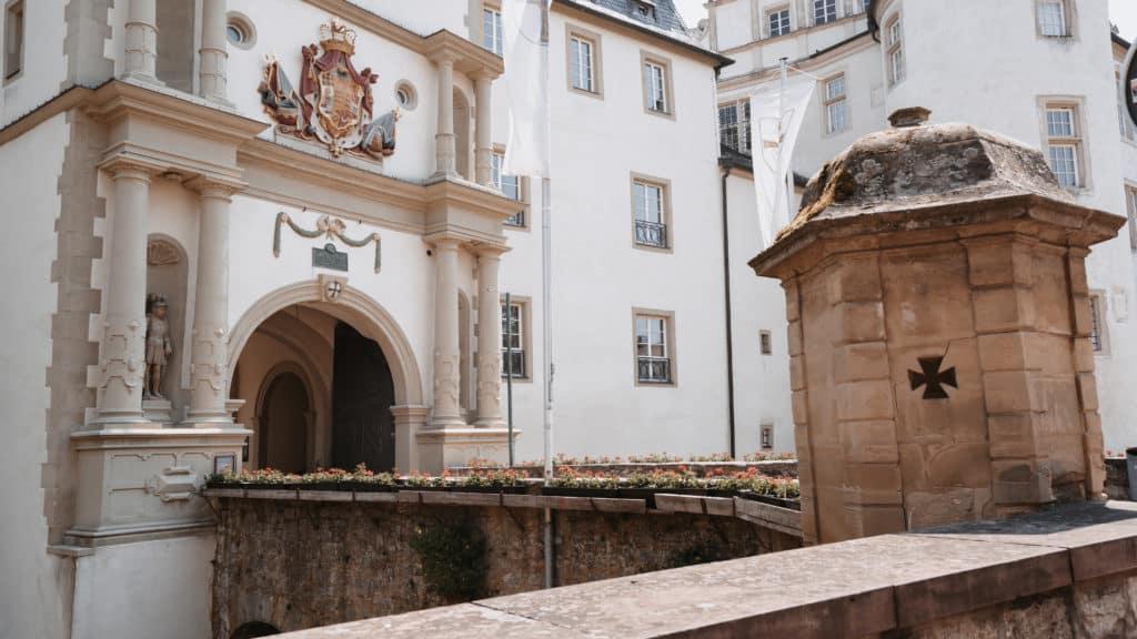 Residenzschloss Wendeltreppe